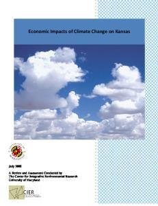 Economic Impacts of Climate Change on Kansas