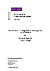 Economics Discussion Paper