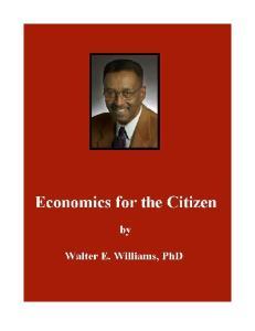 Economics for the Citizen - Part 1