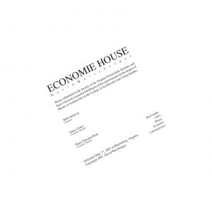 ECONOMIE HOUSE. Thesis submitted to the faculty of the Virginia Polytechnic Institute and