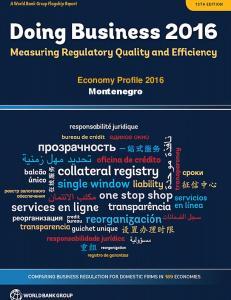 Economy Profile 2016 Montenegro