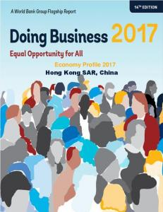 Economy Profile 2017 Hong Kong SAR, China