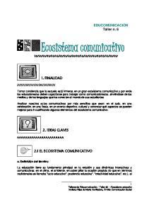 Ecosistema comunicativo
