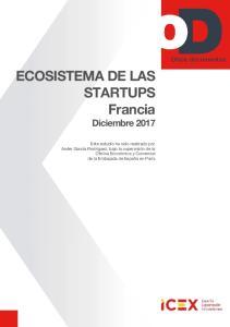 ECOSISTEMA DE LAS STARTUPS Francia Diciembre 2017