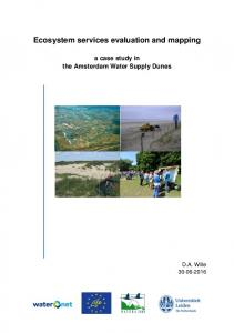 Ecosystem services evaluation and mapping. a case study in the Amsterdam Water Supply Dunes