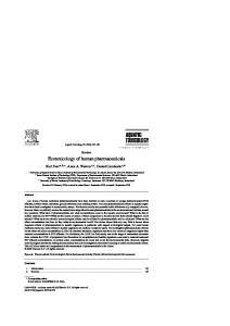 Ecotoxicology of human pharmaceuticals