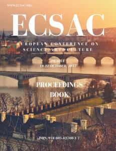 ECSAC 17 EUROPEAN CONFERENCE ON SCIENCE, ART & CULTURE Prague October 19-22, 2017 ORGANIZATION COMMITTEE