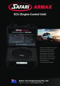 ECU (Engine Control Unit)