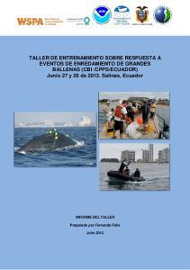 ECUADOR) Junio 27 y 28 de 2013