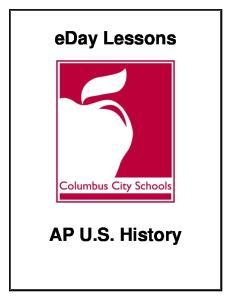 eday Lessons AP U.S. History