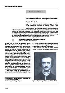 Edgar Allan Poe es uno de los grandes escritores