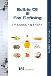 Edible Oil & Fat Refining