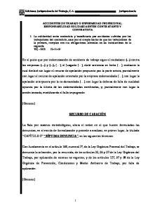 Ediciones Jurisprudencia del Trabajo, C.A. Jurisprudencia