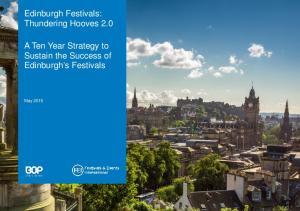 Edinburgh Festivals: Thundering Hooves 2.0