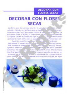 EdiRights DECORAR CON FLORES SECAS