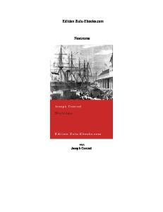 Edition Zulu-Ebooks.com. Nostromo. von Joseph Conrad