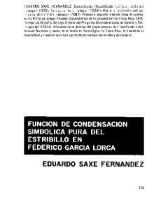EDUARDO SAXE FERNANDEZ