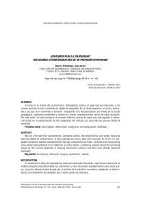 EDUCAMOS PARA LA SOLIDARIDAD? REFLEXIONES ANTROPOEDUCATIVAS DE UN PROFESOR ENTROPIZADO