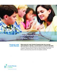 Education and Cystic Fibrosis
