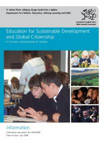 Education for Sustainable Development and Global Citizenship