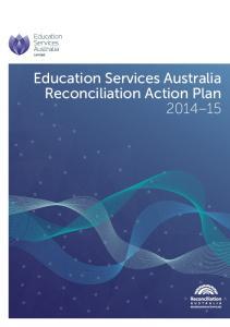 Education Services Australia Reconciliation Action Plan