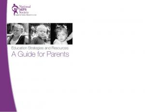 Education Strategies and Resources. A Guide for Parents