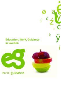 Education, Work, Guidance in Sweden