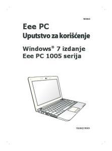 Eee PC Uputstvo za korišćenje