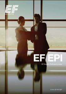 EF EPI EF English Proficiency Index