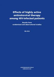 Effects of highly active antiretroviral therapy among HIV-infected patients