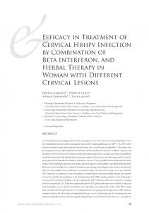 &Efficacy in Treatment of