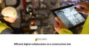 Efficient digital collaboration on a construction site