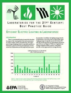 EFFICIENT ELECTRIC LIGHTING IN LABORATORIES