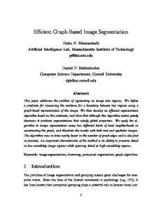 Efficient Graph-Based Image Segmentation