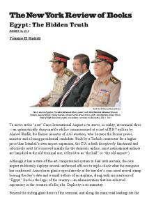 Egypt: The Hidden Truth