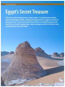 Egypt's Secret Treasure