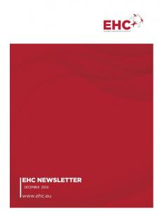 EHC Newsletter December 2016