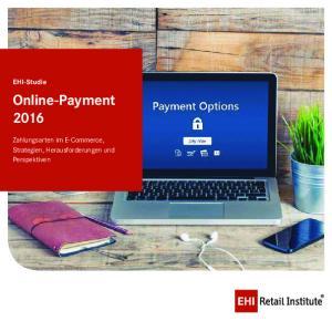 EHI-Studie Online-Payment 2016