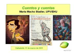 EHU. Valladolid, 17 de marzo de 2011