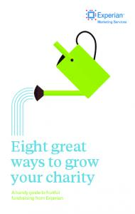 Eight great ways to grow your charity