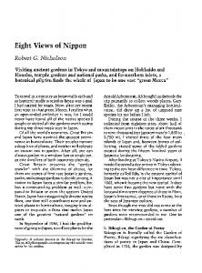 Eight Views of Nippon
