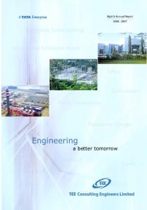 Eighth Annual Report Engineering a better tomorrow