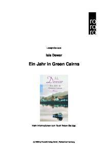 Ein Jahr in Green Cairns