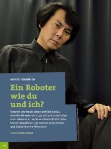 Ein Roboter wie du und ich?