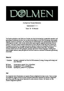 Ein Spiel von Thomas Odenhoven. Spieleranzahl: 2 5. Dauer: Minuten