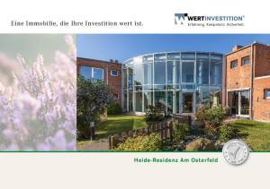 Eine Immobilie, die Ihre Investition wert ist