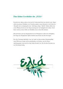 Eine kleine Geschichte der ELIA