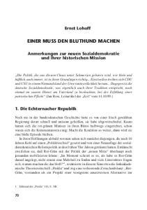 EINER MUSS DEN BLUTHUND MACHEN