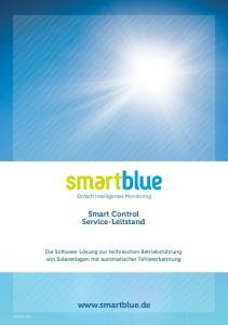 Einfach intelligentes Monitoring. Smart Control Service-Leitstand
