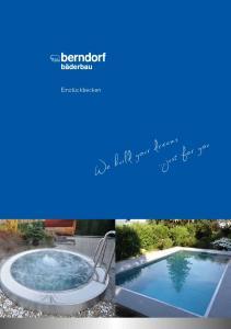 Einstückbecken. We build your dreams....just for you